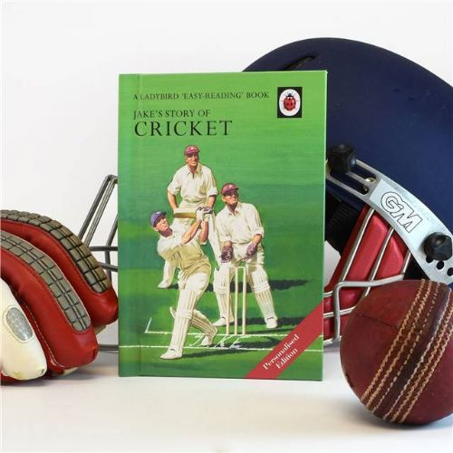 Cricket - A Ladybird Personalised Book